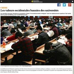 Les valeurs occidentales bannies des universités