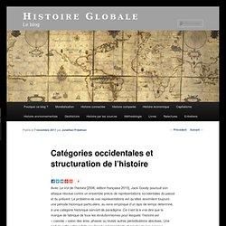 Catégories occidentales et structuration de l'histoire