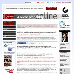 revue geopolitique, articles, cartes, relations internationales