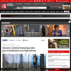 Ukraine: victoire historique des pro-occidentaux aux législatives - Europe