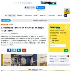 """L'Occitane lance son nouveau concept """"Sunshine"""""""
