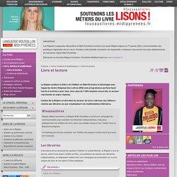 Livre et lecture - Culture - Région Occitanie / Pyrénées-Méditerranée