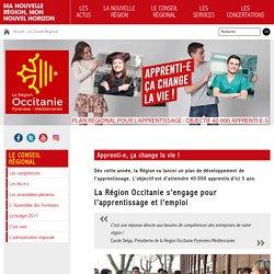 Apprenti-e, ça change la vie ! - Le Conseil Régional - Région Occitanie / Pyrénées-Méditerranée