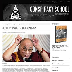 Occult Secrets of the Dalai Lama