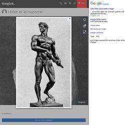 Prêt au combat, Arno Breker Sculpture de 1939, Zeppelinfeld, Nuremberg