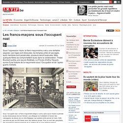 Les francs-maçons sous l'occupant nazi