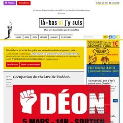 5 mars 2021 Occupation du théâtre de l'Odéon