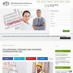 Occupational Diseases and Workers' Compensation Law