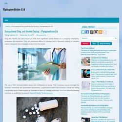 Occupational Drug and Alcohol Testing - Flyingmedicine Ltd
