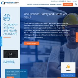 Occupational Safety and Health Act – OSHA