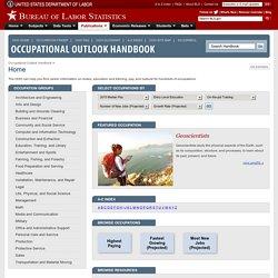 Occupational Outlook Handbook, 2010-11 Edition