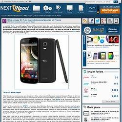 Wiko occupe 8,3 % du marché des smartphones en France