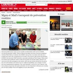 Mgen et Maif s'occupent de prévention routière - 25/12/2014 - ladepeche.fr