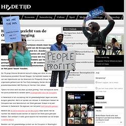 HP/De Tijd: Het ware gezicht van de Occupy-beweging