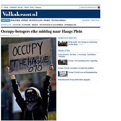 Occupy-betogers elke middag naar Haags Plein - Binnenland