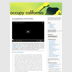 occupy california