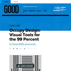Occupy Design: Visual Tools for the 99 Percent - Design