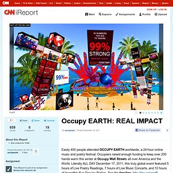 Occupy EARTH: REAL IMPACT