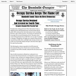 Occupy Humboldt Newsletter