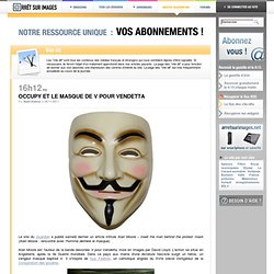 Occupy et le masque de V pour Vendetta