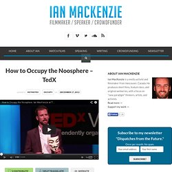 How to Occupy the Noosphere – TedX