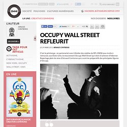 Occupy Wall Street refleurit