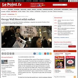 Occupy Wall Street refait surface