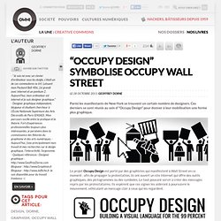 """Occupy Design"" symbolise Occupy Wall Street"