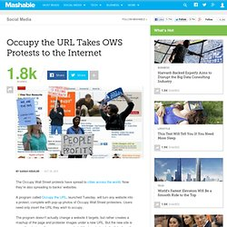 Occupy the URL Takes Protests to The Internet