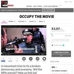 OCCUPY THE MOVIE -- IndieGoGo