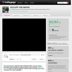 OCCUPY THE MOVIE