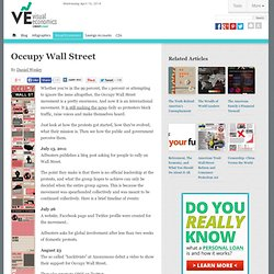 Occupy Wall Street -