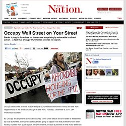 Occupy Wall Street on Your Street
