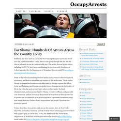 OccupyArrests