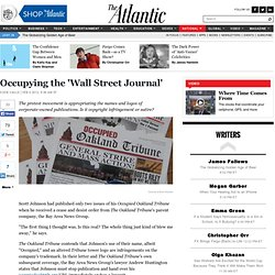 Occupying the 'Wall Street Journal' - Susie Cagle - National