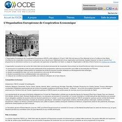 L'Organisation Européenne de Coopération Economique