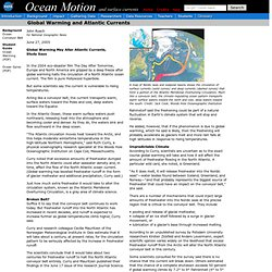 Ocean Motion : Main Page