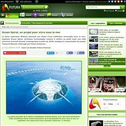 Ocean Spiral, un projet pour vivre sous la mer