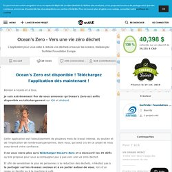 Ocean's Zero - Vers une vie zéro déchet - Toutes les news