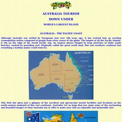 Oceania Travel - Australia - The Pacific Coast