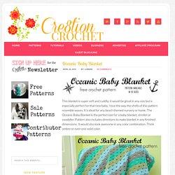 Oceanic Baby Blanket - Cre8tion Crochet