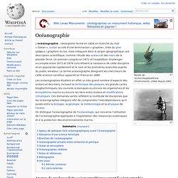 Océanographie