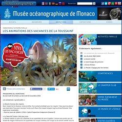 Animations au Musée océanographique de Monaco