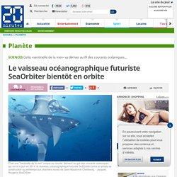 Le vaisseau océanographique futuriste SeaOrbiter bientôt en orbite