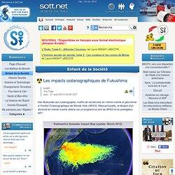 Les impacts océanographiques de Fukushima