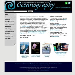 Oceanography Home