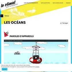 Les océans face au changement climatique