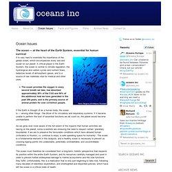 Oceans inc: Ocean Issues
