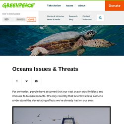 Oceans Issues & Threats (USA)