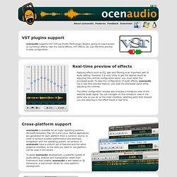 ocenaudio audio editor